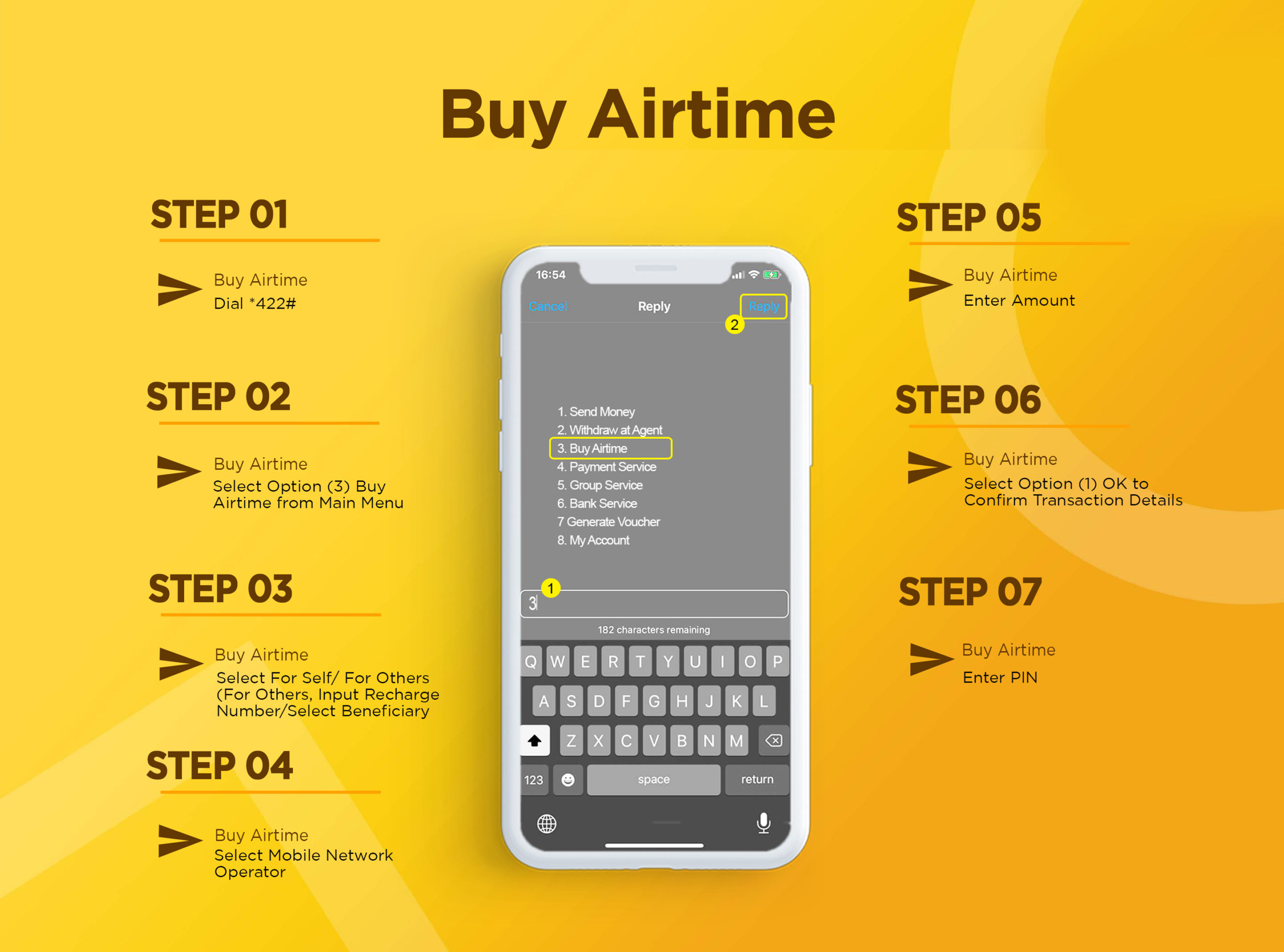 G-Money Buy Airtime